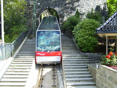 funicular, vehicle, transport, public transport, rolling stock, track,