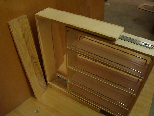 Pull out spice rack deals on 1001 blocks - Base cabinet pull out spice rack ...