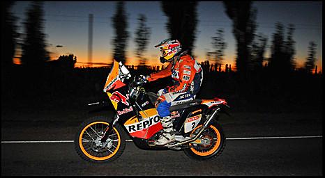 españa argentina sunrise rally ktm mendoza winner dakar naranja 2009 motos sanmartín ganador marccoma chimbas colourartaward