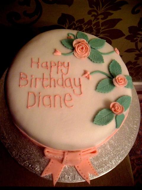 Birthday Cake Images For Diane : Diane s Birthday Cake Flickr - Photo Sharing!