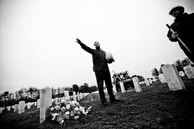 National Cemetery provides full honors for veterans buried alone from Flickr via Wylio