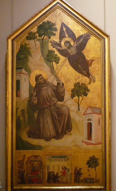 Giotto, St. Francis of Assisi Receiving the Stigmata, c. 1295-1300
