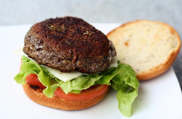Gluten-Free Lentil Burgers