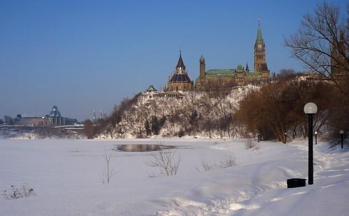 Ottawa River Eastward View - Ottawa 03 08