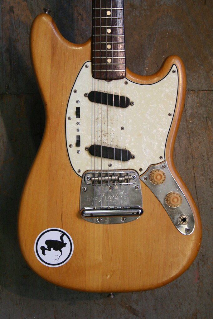 1964 fender mustang repair it needed a new nut made a r flickr. Black Bedroom Furniture Sets. Home Design Ideas