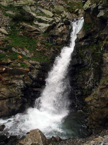 Gran cascada previa