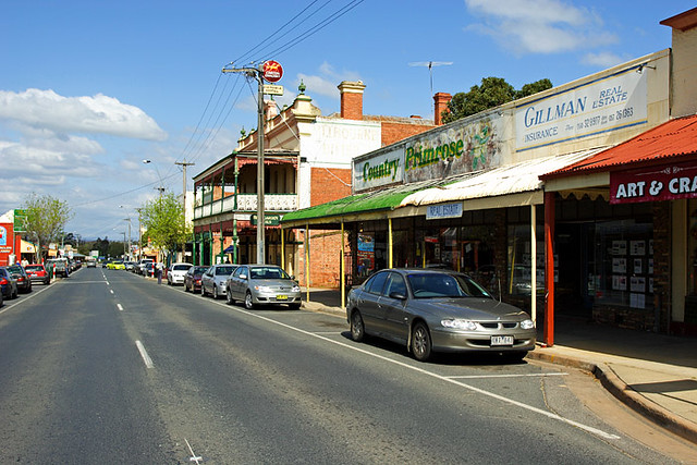 Rutherglen Australia  City new picture : Rutherglen, Victoria, Australia, main street IMG 7000 Rutherglen