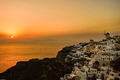 Oia Sunset, Santorini, Greece