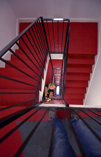 Red Stairwell - Day 14 of Project 365
