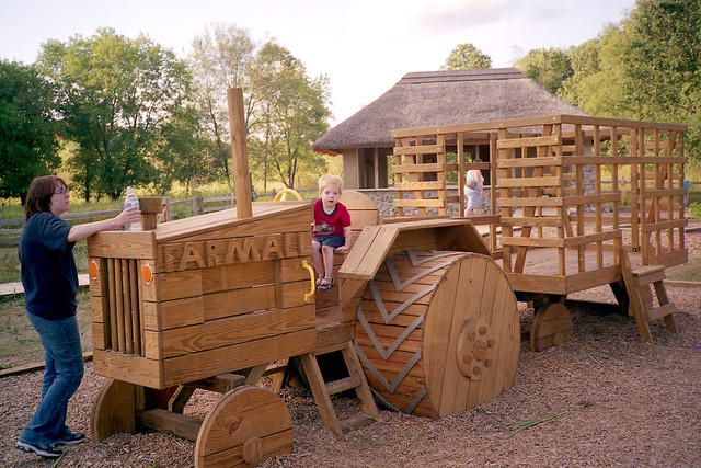 Wooden tractor | Flickr - Photo Sharing!