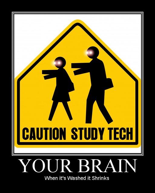 Caution: Study Tech