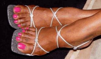 Sexy ebony toes pics