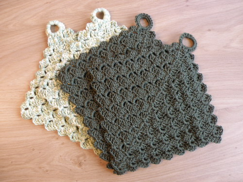 famous free crochet christmas potholder patterns