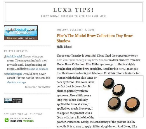 Luxe Tips