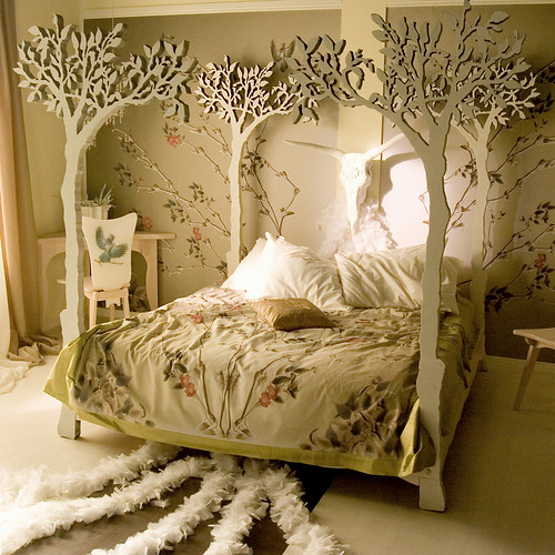 Under the apple tree bed. see www.attiladesign.etsy.com