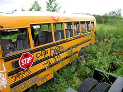 Staging Area - School Bus - Northern Facade