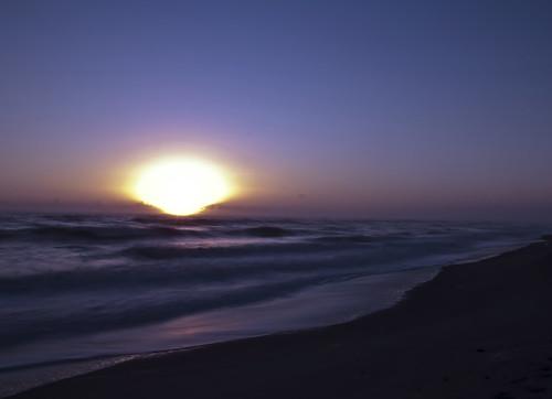 longexposure pink blue sun color art beach sunrise nikon long exposure waves pastel horizon d90