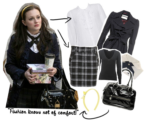 Blair Waldorf - What to Wear u2022 WishWishWish