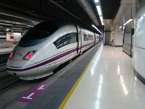 Estación Ave Sants en Barcelona