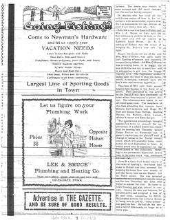 Lee Bruce ad 7-11-1913