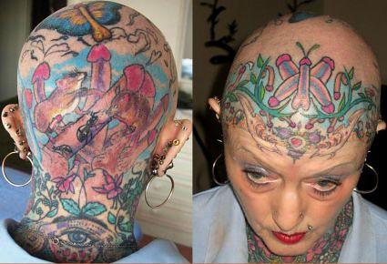 tatto paling serem