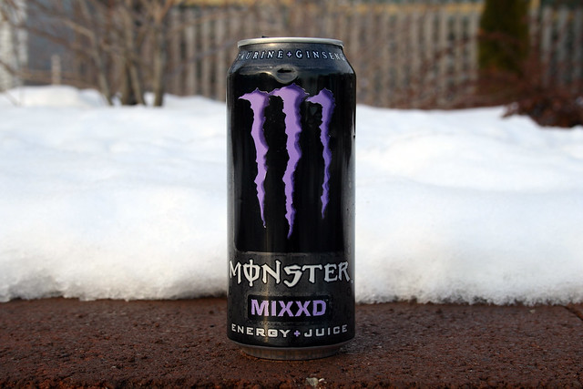 Monster Energy Drink Changes