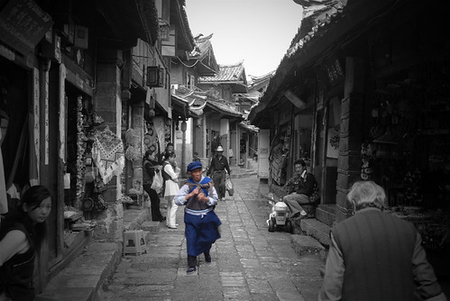 An ordinary day of a little town in Lijiang