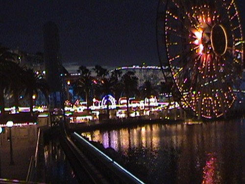 3Dr, Paradise Pier, Sun Wheel, Disney's California Adventure, Anaheim, California, night, 2008.05.26 20:11