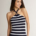 Striped Halter: Ann Taylor - Loft