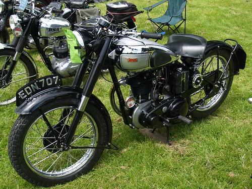 BSA 350cc Classic Motorcycles - 1949