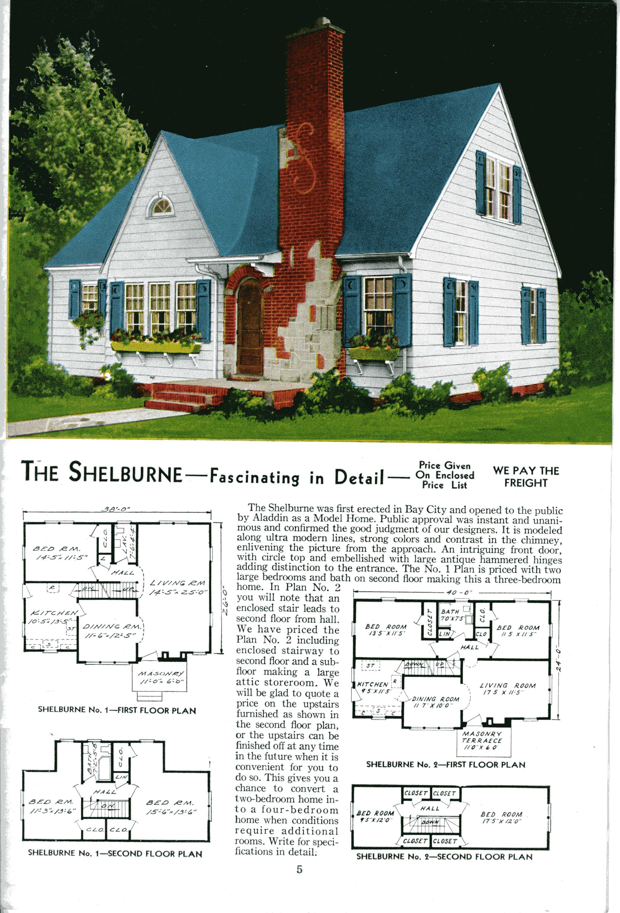1923 sears kit house catalog for Catalog houses