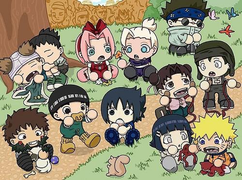 Chibi Baby Naruto Characters