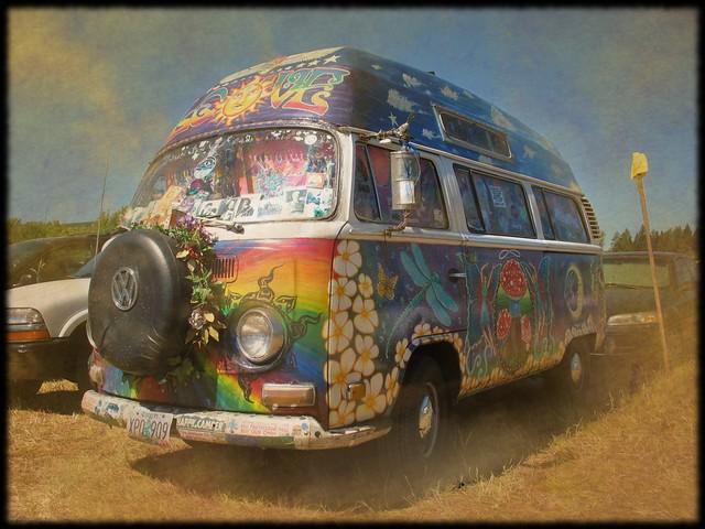 Oregon Country Fair 2008 - Magic Bus