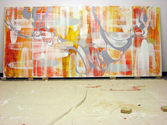 "Work In Progress 132""x60"""