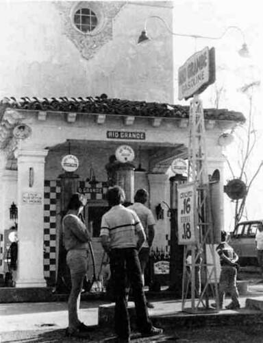 Barnsdall Rio Grande Service Station circa 1946