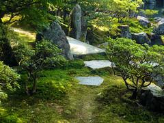 Path and bridge - Ginkakuji