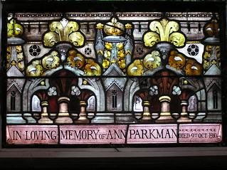 Stained Glass inside Christ Church, Murringo, NSW