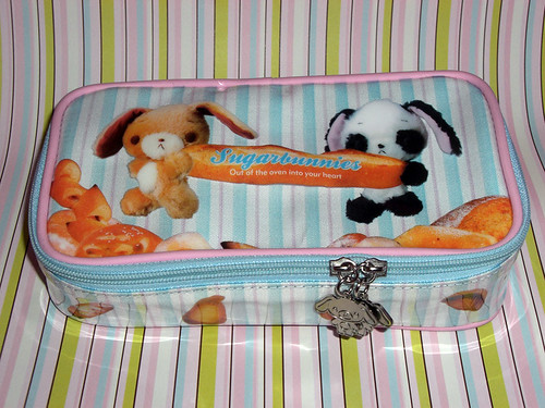 <3 sugarbunnies pencil pouch <3