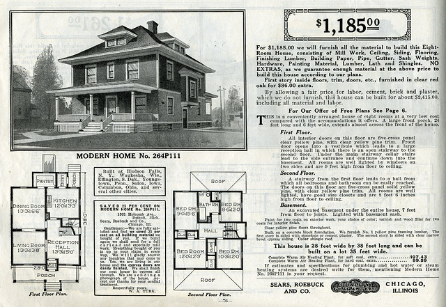 Sears foursquare the chelsea or 264p111 flickr photo for American farmhouse plans