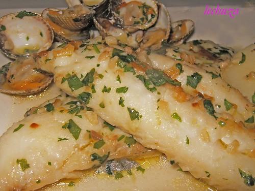 La cocina de lechuza recetas de cocina con fotos paso a paso pescadilla filetes en salsa con - Cocinar pescado congelado ...