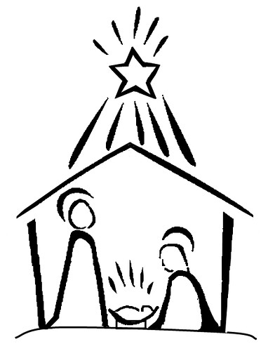 Line Drawing Nativity : Nativity line drawing flickr photo sharing