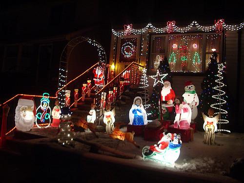 Iluminación navideña en Dyker Heights (Brooklyn) 3