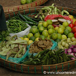 Burmese Vegetable Basket - Rangoon, Burma (Yangon, Myanmar)