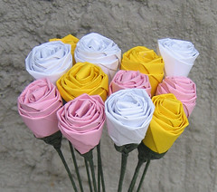 Paper Flowers 105 Photos | Origami roses | 703