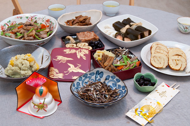 Japanese new year food osechi ryori flickr photo for Abis japanese traditional cuisine