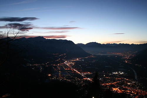 Ticino by night