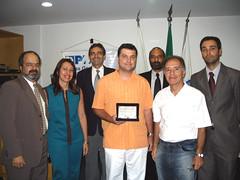Ricardo Vargas - Homenagem PMI-MG 2005