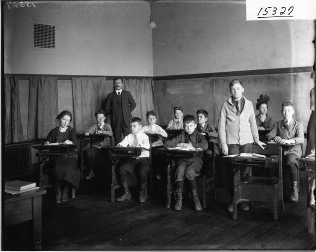 McGuffey High School class at Ohio State Normal College 1916 from Flickr via Wylio