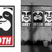 Geurrilla Sloth Propaganda - 14 / 01 / 09 by Olly Moss