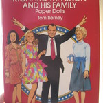 Richard Nixon & family paper dolls